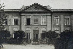 ウィーン大学小児クリニック入口