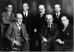 1922年のフロイト医師と国際精神分析協会委員会