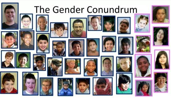 自閉症の男女差