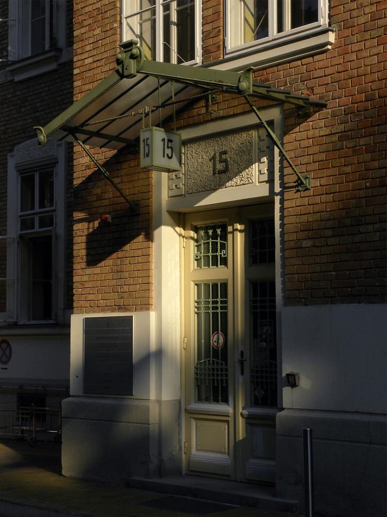 パビリオン15の入口