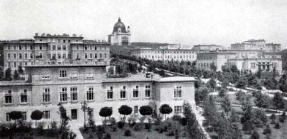 昔のシュタインホフ精神病院