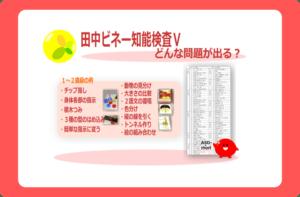 田中ビネー知能検査Ⅴどんな問題が出る?