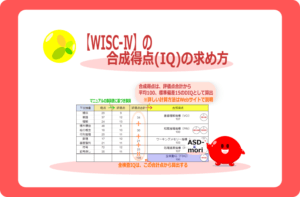 WISC_合成得点(IQ)の求め方